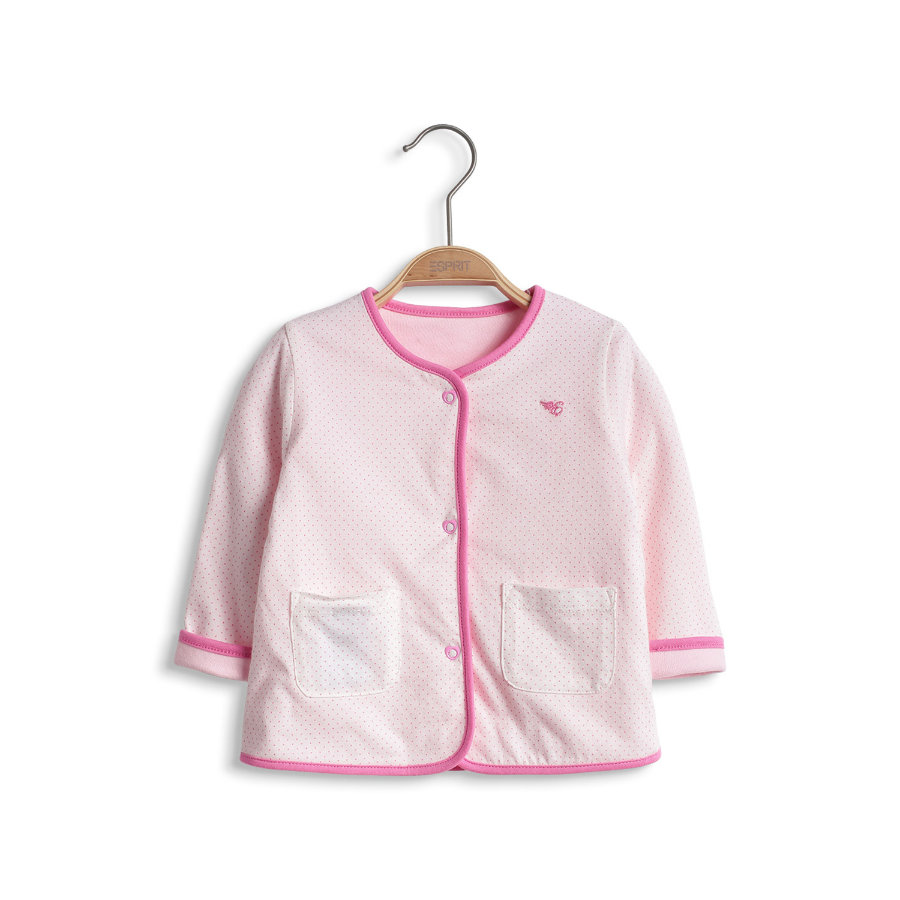 ESPRIT Girls Baby Reversible Jacket sheer rose