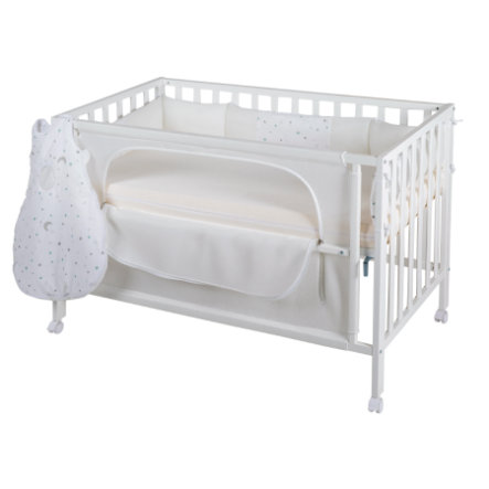 roba Room Bed safe asleep® Sternenzauber weiß