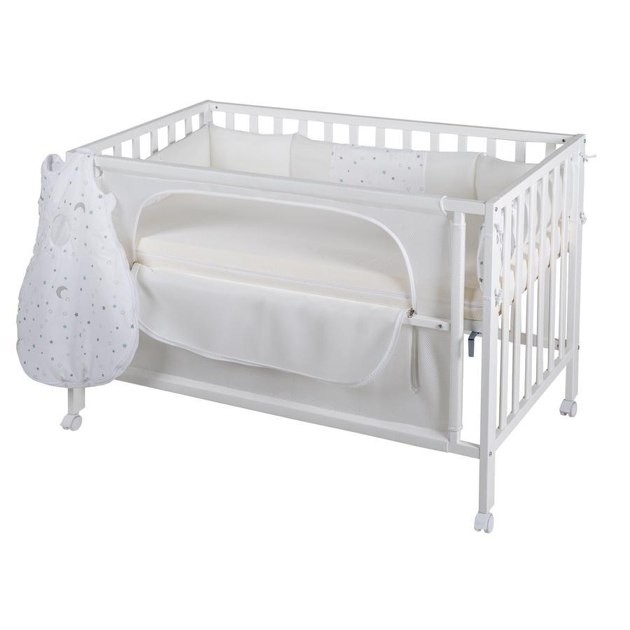 roba Room Bed safe asleep® Stjerne magi Hvit