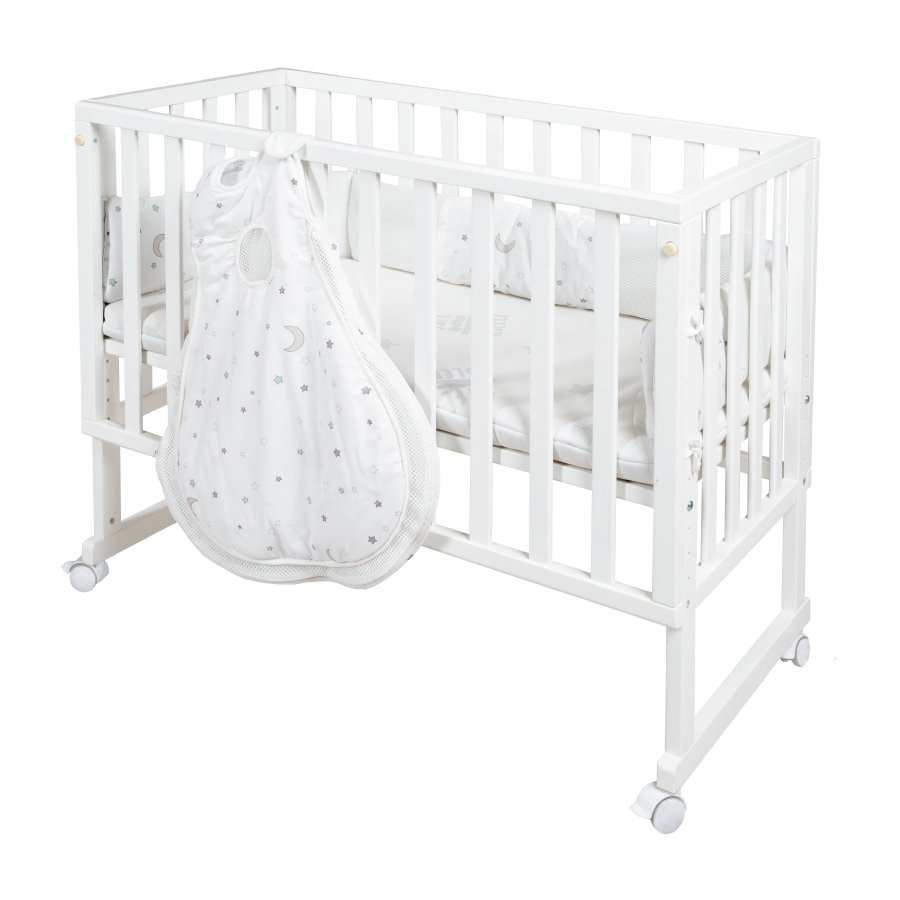 Roba pinnasänky safe asleep® 3 in 1 tähtikuvio, valkoinen
