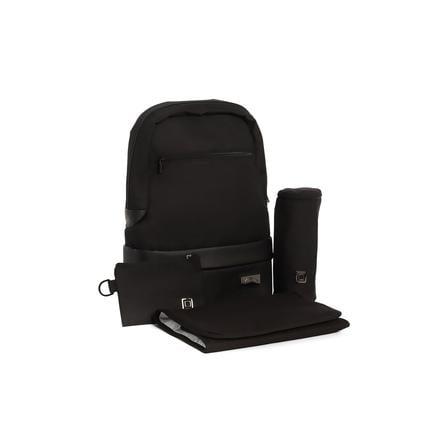 MOON Zaino fasciatoio Backpack black