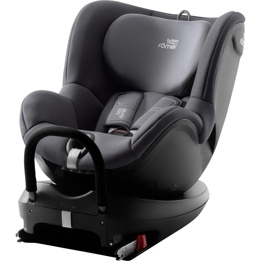 britax römer silla de coche gr. 0+/1 Dualfix 2 R Storm Grey gris
