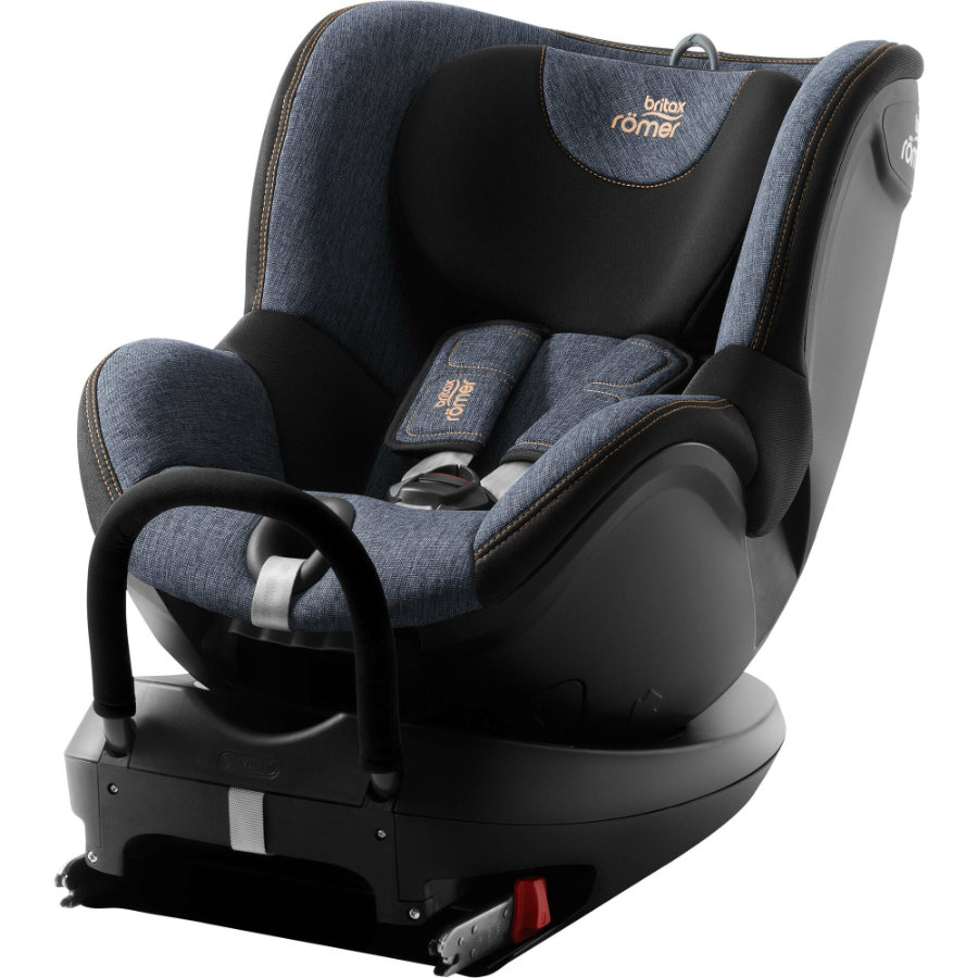 britax römer silla de coche gr. 0+/1 Dualfix 2 R Blue Marble