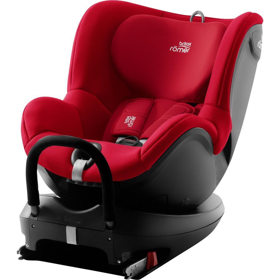 Britax Römer Silla de coche Dualfix² R Fire Red, rojo
