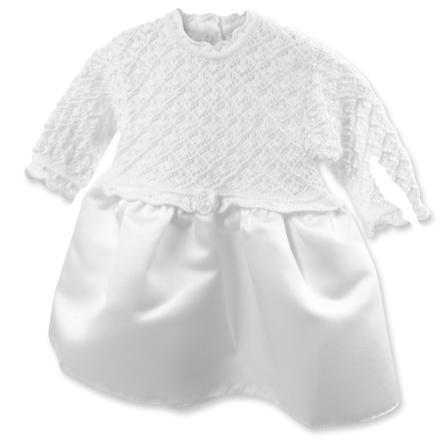 HOBEA-Germany dopklänning Sarah med satinbåge vit