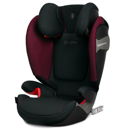 cybex GOLD Kindersitz Solution S-Fix Scuderia Ferrari Victory Black