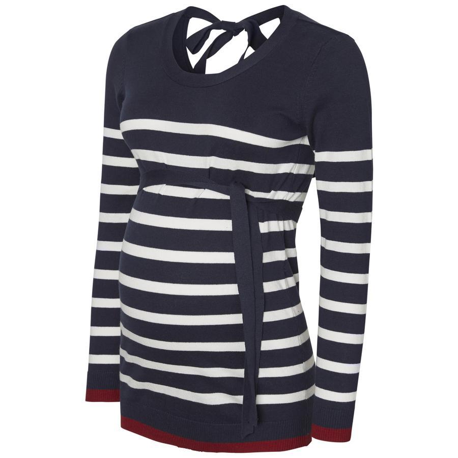 mama licious långärmad skjorta MLKENNA Navy Blazer