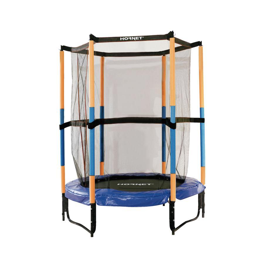 HUDORA® Hornet Jump in sikkerhetstrampoline , blå 65596