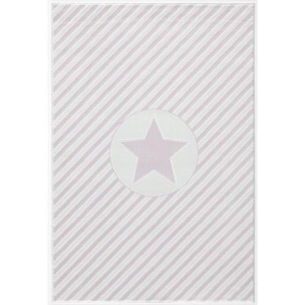 LIVONE Tapijt Happy Rugs Decostar roze/wit 120 x 180 cm