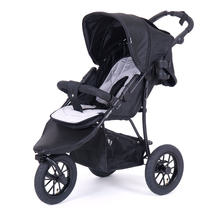knorr-baby Cochecito deportivo FunSport3 negro-gris