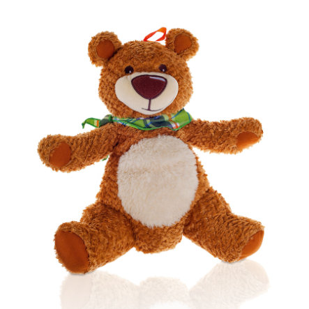 FASHY Bouillote peluche enfant Ours 0,8 l.