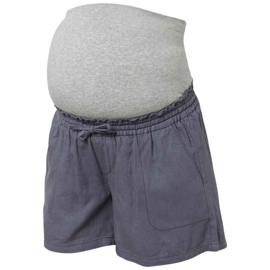 mama licious Shorts MLLINEN Ombre Blue