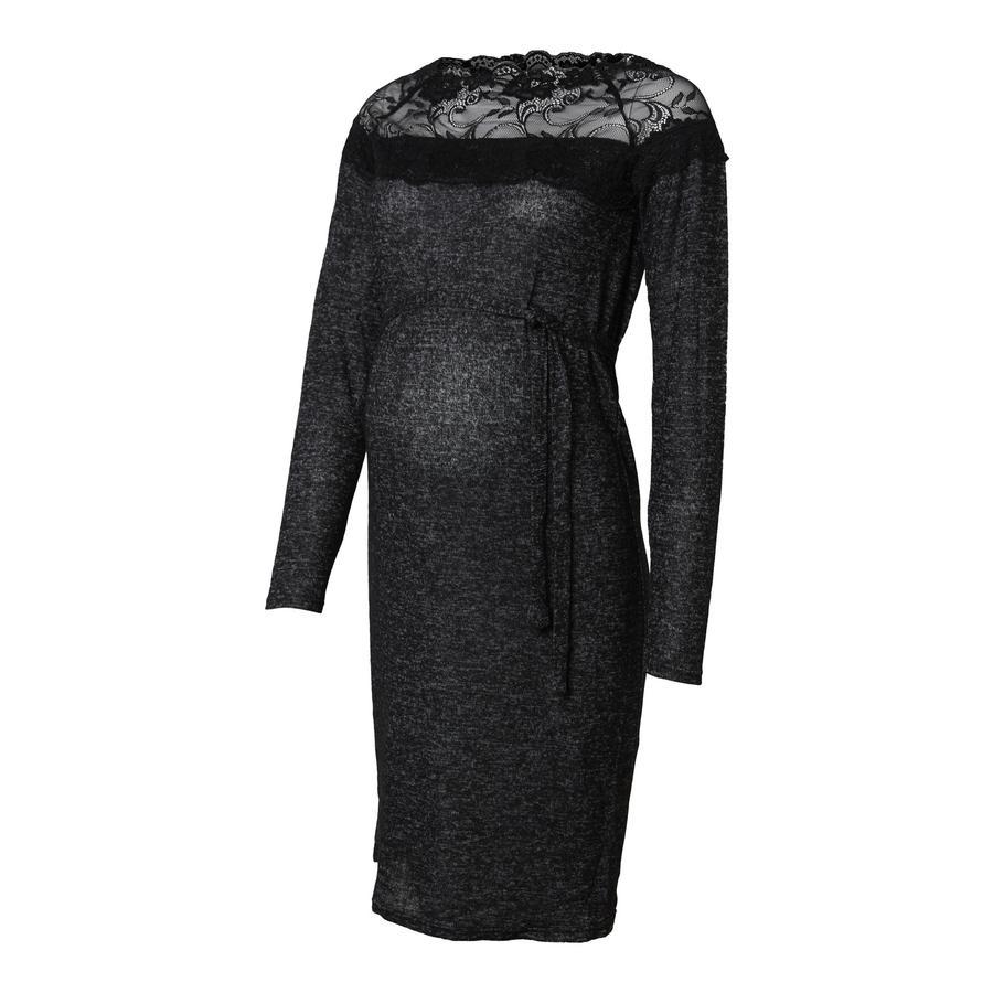 mama licious Sukienka dla kobiet w ciąży MLDEA Dark Grey Melange