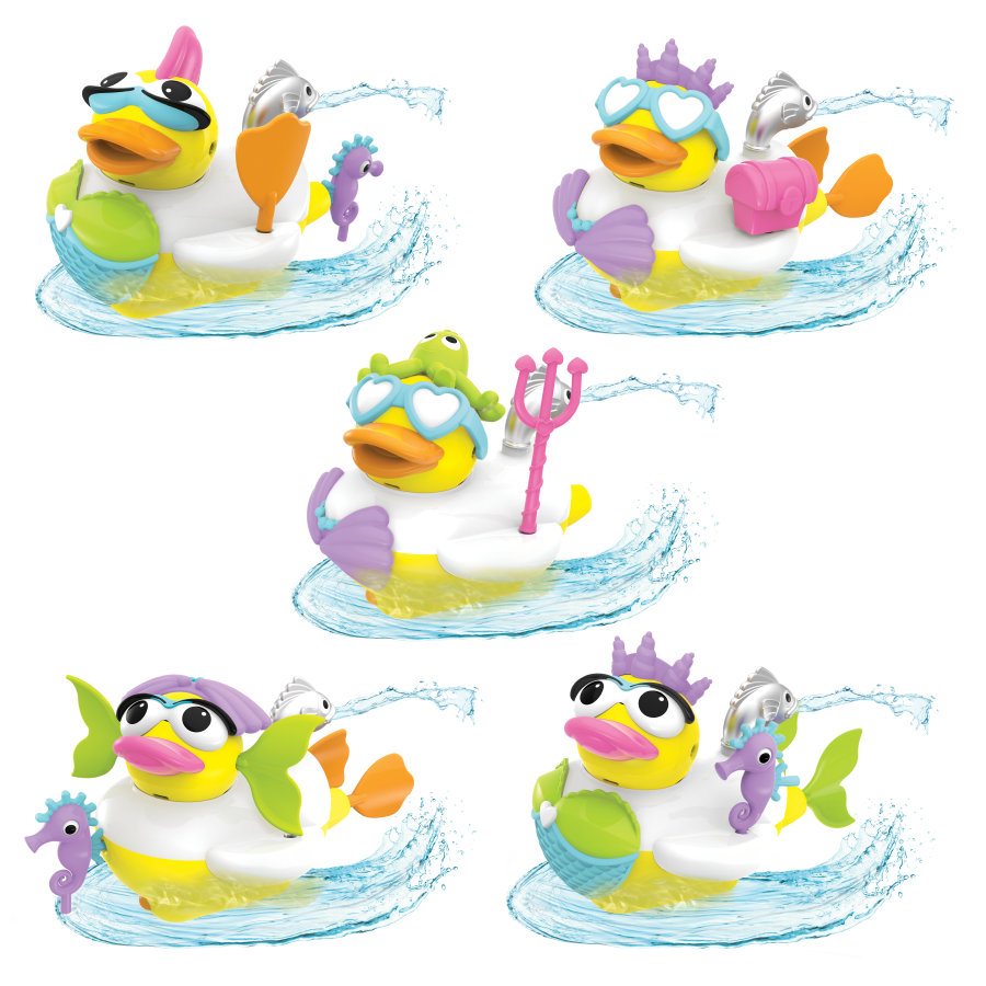 Yookidoo ™ Water-funktion Jet Duck® Mermaid