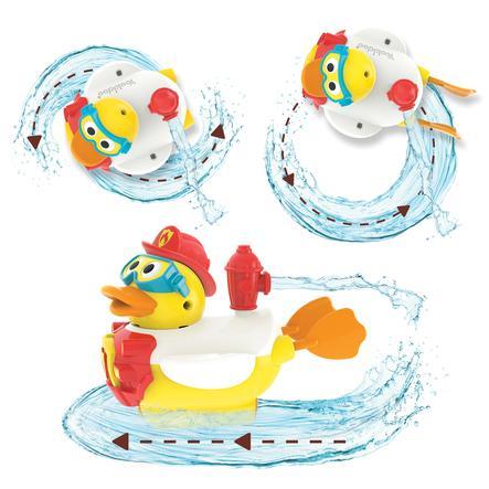 Yookidoo ™ Water-funksjonen Jet Duck® brannmann