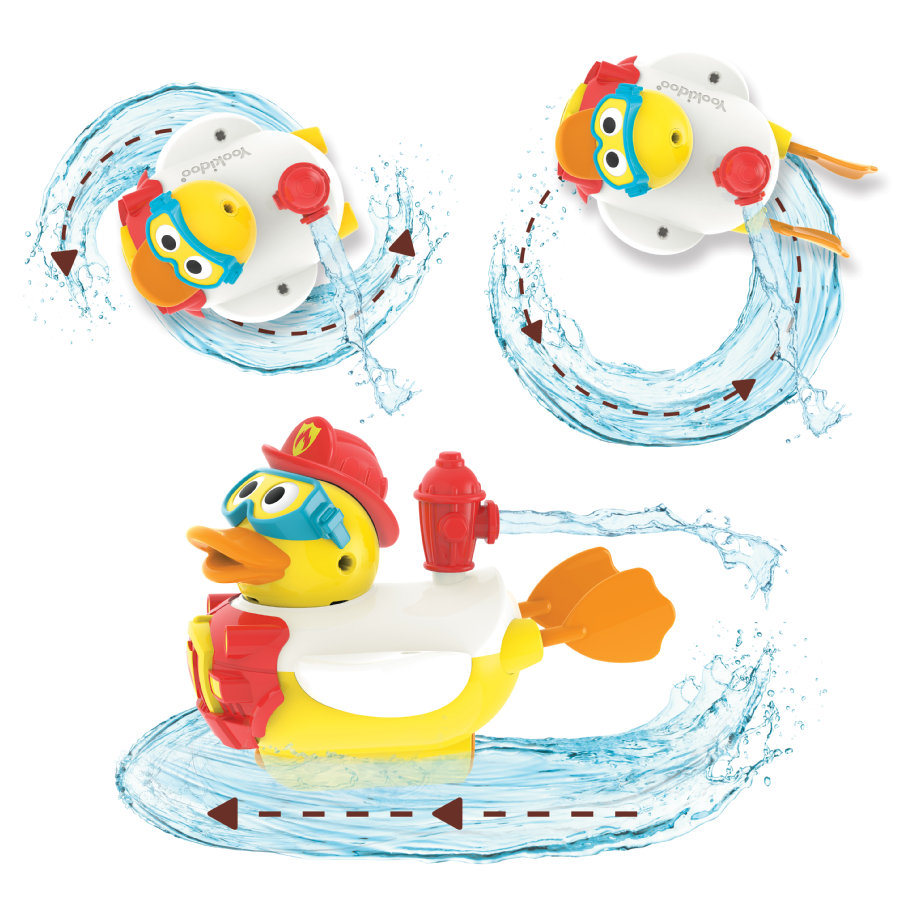 Yookidoo ™ Bomberos de Jet Duck® para el agua