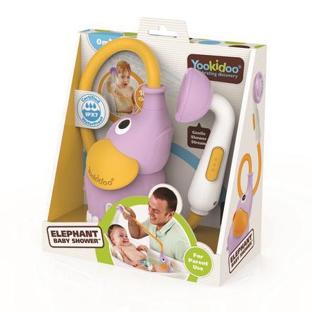 Yookidoo™ Baby shower-elefant, lilla