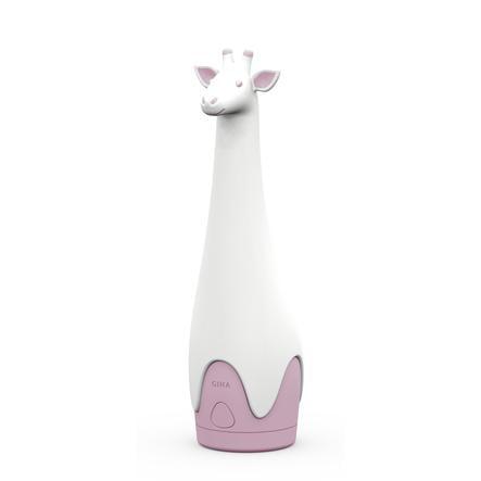 ZAZU Svítilna a noční světlo Žirafa Gina, růžová