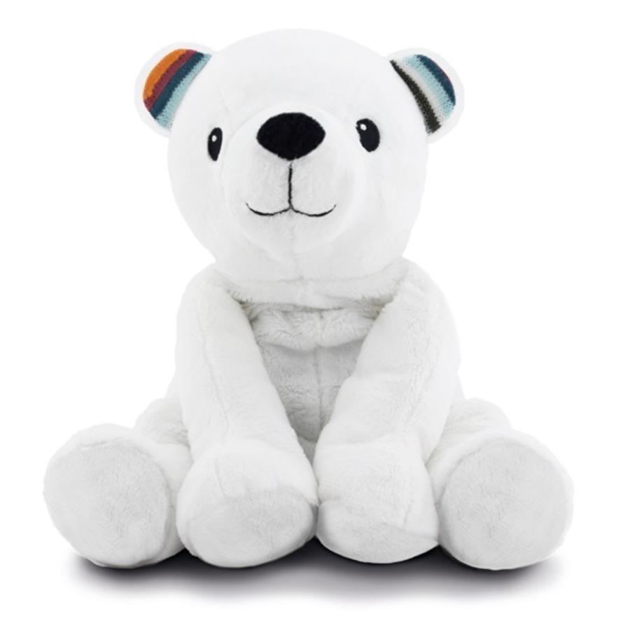 ZAZU Peluche riscaldabile, orso polare Paul