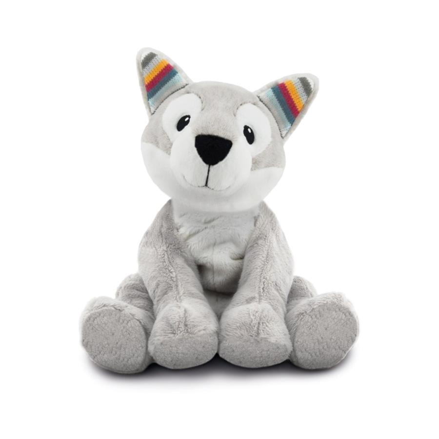 ZAZU Peluche chauffante chien husky Howy, arôme lavande