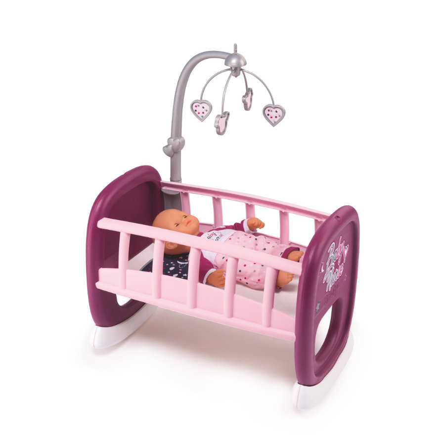 Smoby Baby Nurse - Dukkevugge med uro
