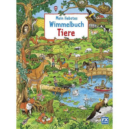 FX SCHMID, Mein liebstes Wimmelbuch, Tiere