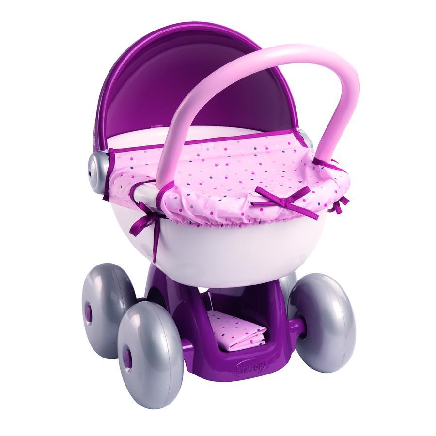 Smoby Poussette pour poupée Baby Nurse rose