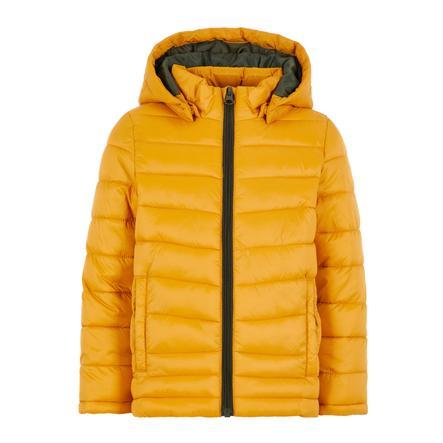 name it Boys Jacket Move  golden orange