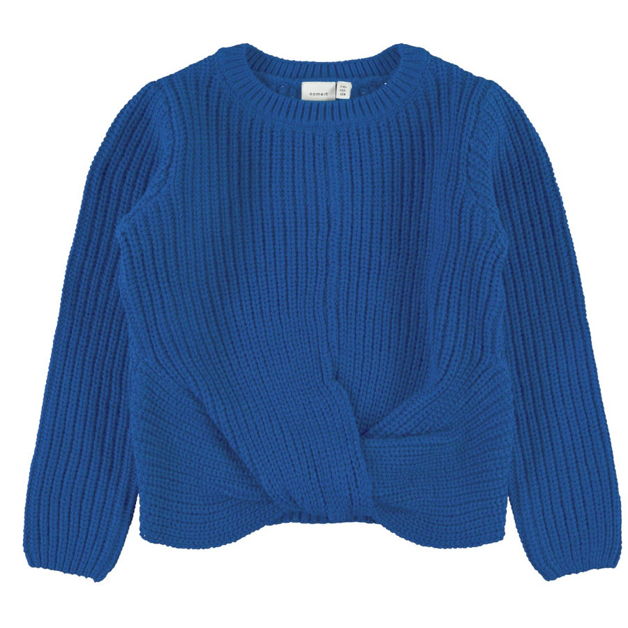 name it Girls Strickpullover NMFNIJIA dazzling blue