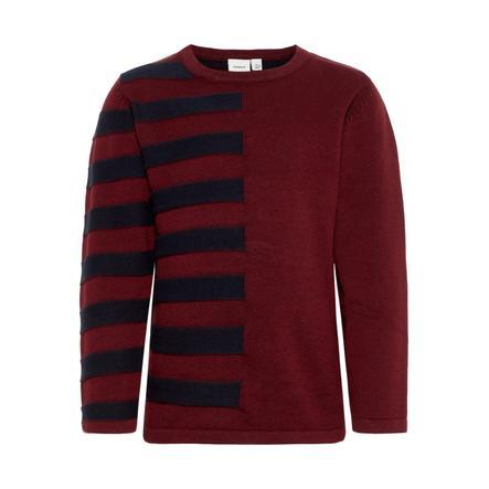 name it Boys Sweater Nuelon cabernet Nuelon cabernet