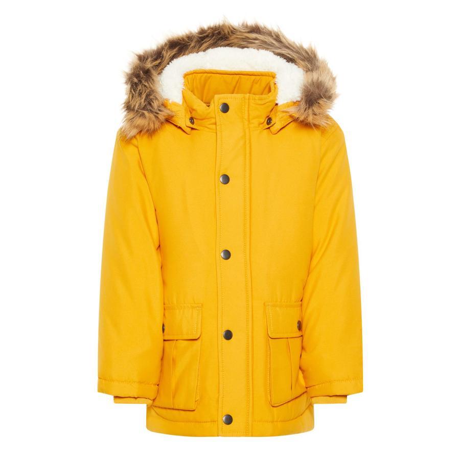 Name it Zimní bunda oranžová
