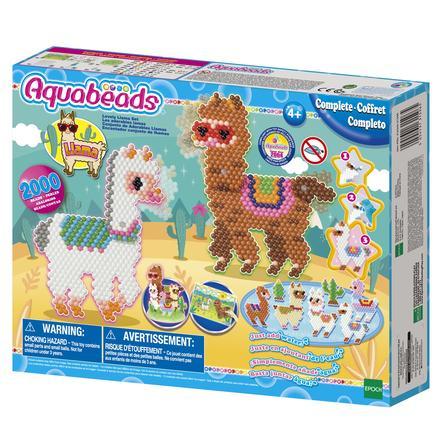 Aquabeads® Jeu créatif à perles adorables lamas 31596