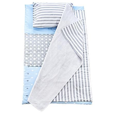 babyJem Sovemåtte med tæppe og pude i sæt Drenge