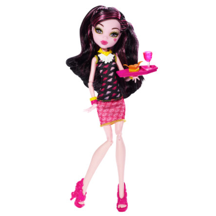 MATTEL Monster High - Monsterschüler-Café Draculaura