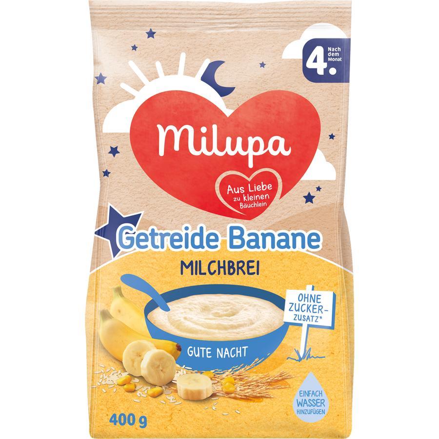 Milupa Milchbrei Gute Nacht Getreide mit Banane 400 g nach dem 4. Monat