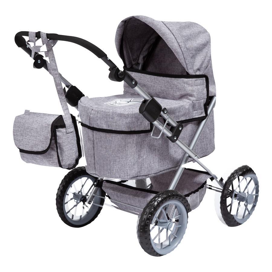 bayer Design Dukke barnevogn Trendy, grå