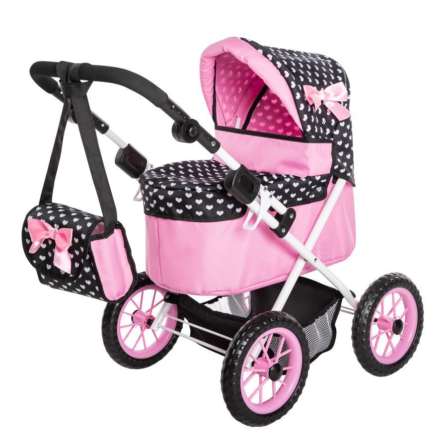 BAYER DESIGN Wózek dla lalek Trendy, bordeaux