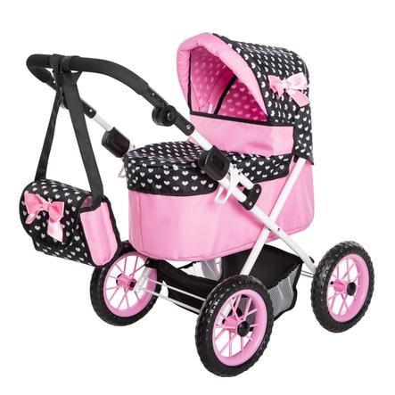 Passeggino per Bambole Trendy Rosa 2445314-Bayer Design 13029