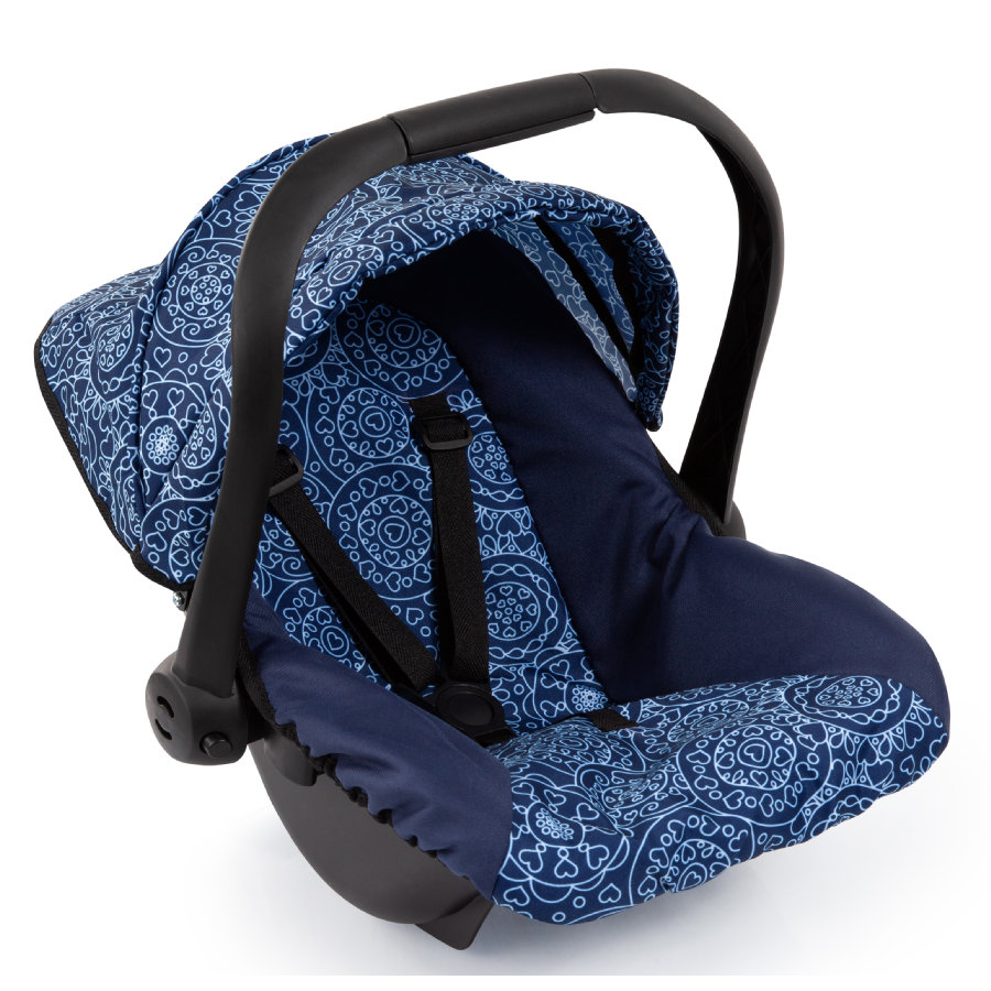 bayer Design Doll bilstol med tak, blå