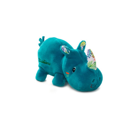 Lilliputiens Peluche mini rhinocéros Marius