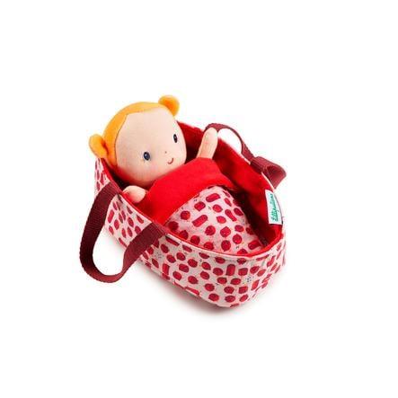 Lilliputiens Babydukke med kurv Agathe