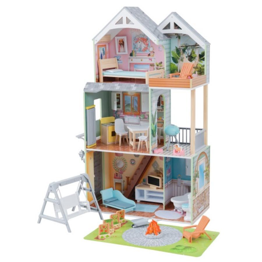 Kidkraft® Maison de poupée Hallie, bois 65954
