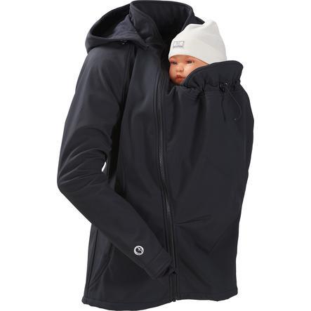mamalila softshellová bunda clickit černá