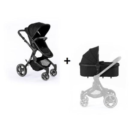 BABY MONSTERS Passeggino duo Premium 2.0 Black