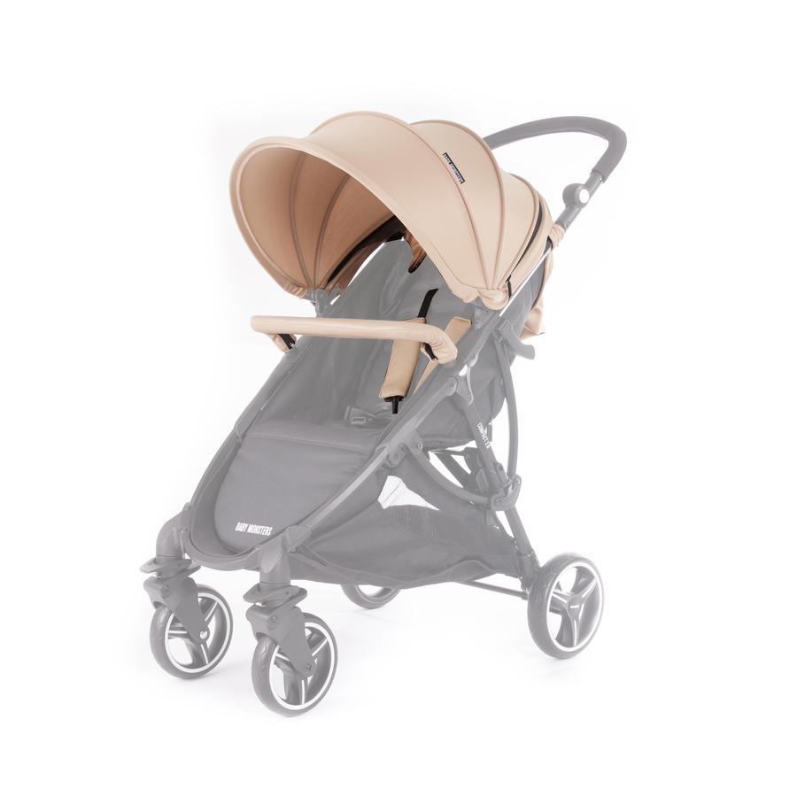 BABY MONSTERS Zestaw kolorystyczny do wózka Compact 2.0, Sand