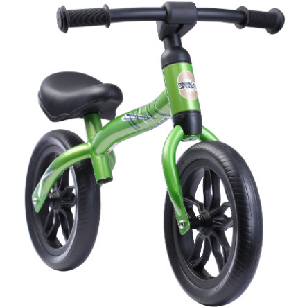 """bikestar Growing Child Bike 10 """"Green"""