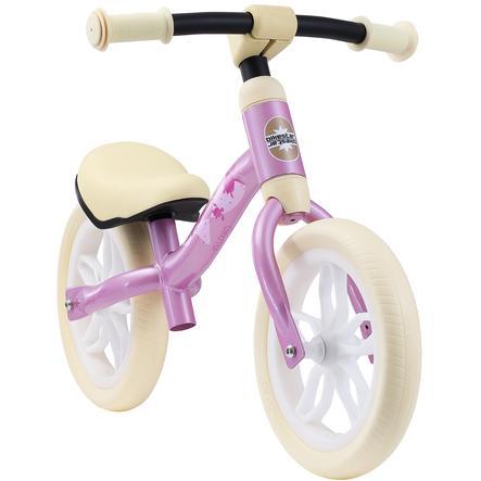 "bikestar Loopfiets meegroeiend 10"" Pink"