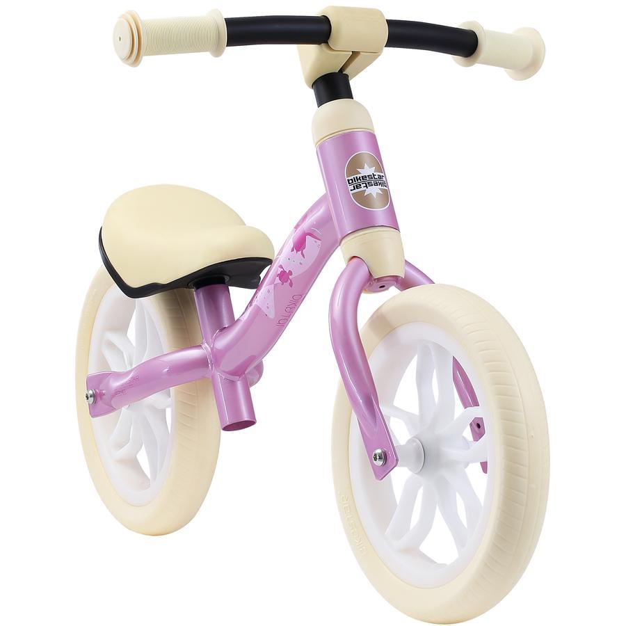 """bikestar Rowerek biegowy rosnący z dzieckiem 10"""" Pink"""