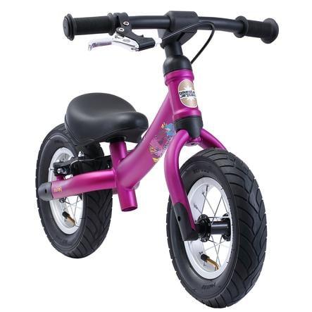 "bikestar Loopfiets meegroeiend 10"" Berry"