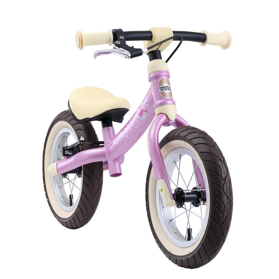 """bikestar Mitwachsendes Lauflernrad 12"""" Pink"""